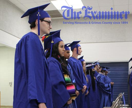 The W.B. Bizzell Academy hosted their annual graduation ceremony for the 2021 graduating class at Navasota Junior High Thursday, June 3. Examiner photo by Celeste Anguiano