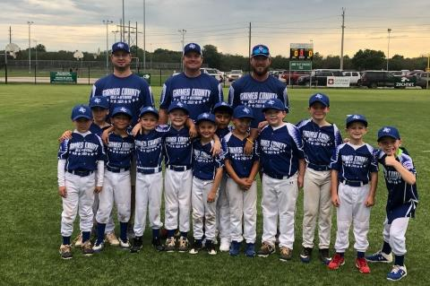 Grimes County Machine Pitch All Star baseball and softball teams wrapped up their season competing in the Little League East District 13 tournament with a pair of great showings.