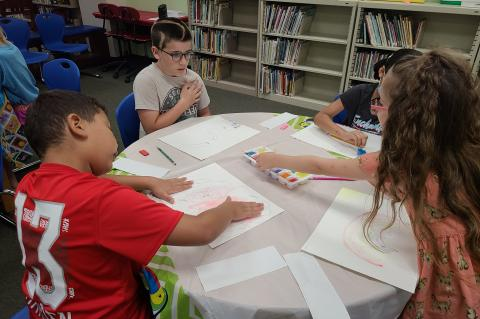 Navasota Public Library staff are keeping families engaged throughout the summer with a calendar full of fun learning experiences ranging from water days to art camps. Find the latest events on the Navasota Public Library Facebook page. Courtesy photos