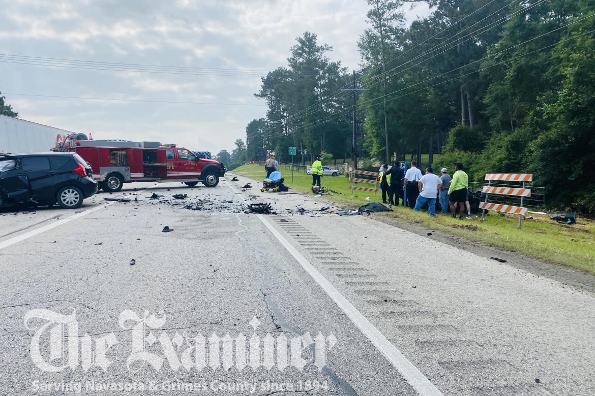 Examiner photo by Ana Cosino An early-morning crash Monday, June 7, claimed the life of 42-year old Rhoda Nimako of Houston and sent another to the hospital with critical injuries.